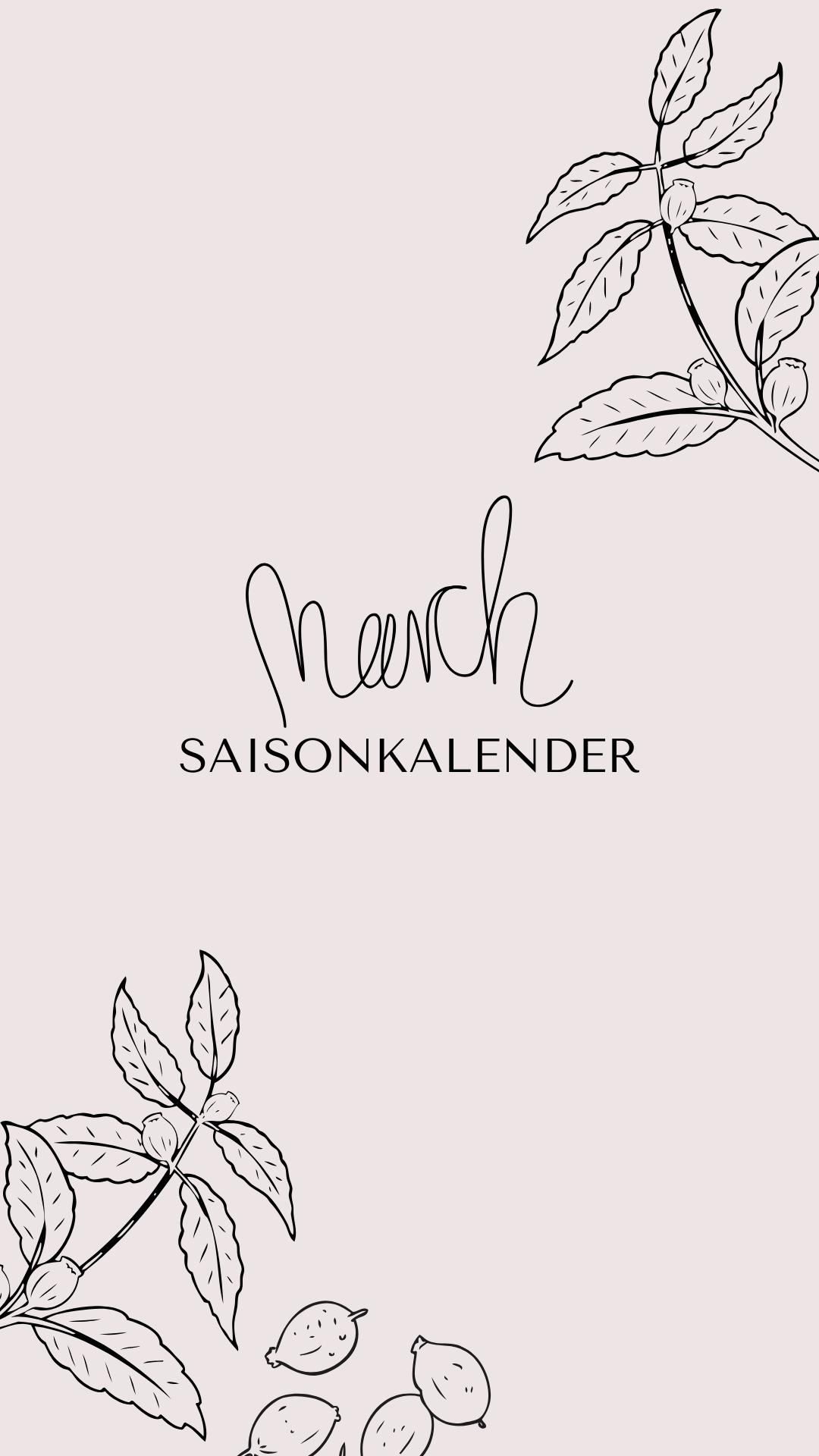 Saisonkalender März | bäckerina.de