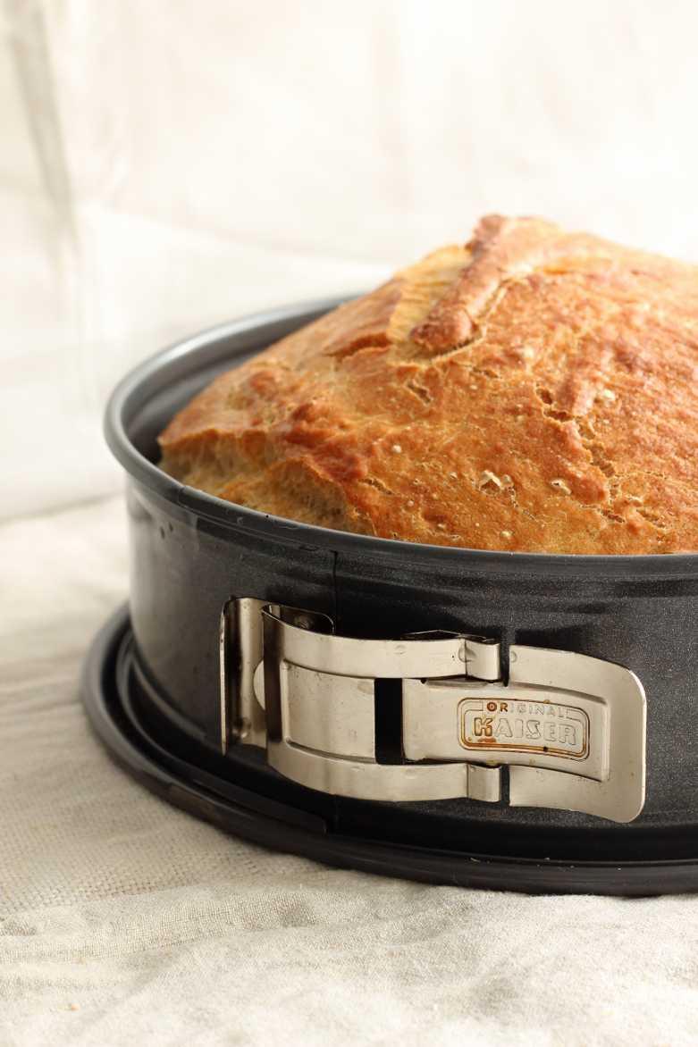 Brot aus der Springform