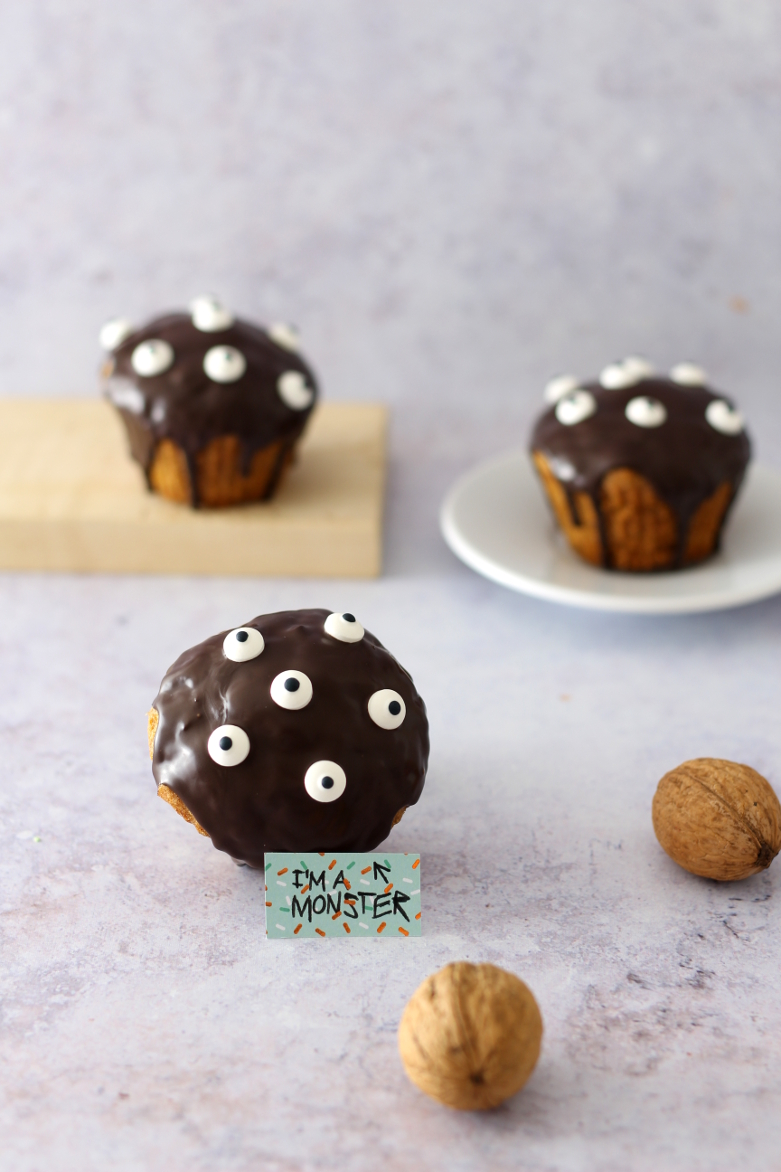 Monster Muffins für Halloween