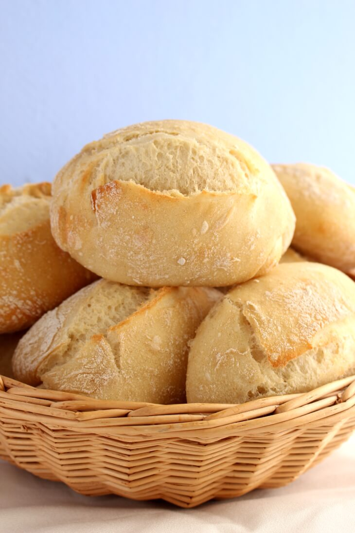 Dinkel Aufbackbrötchen Rezept | bäckerina.de