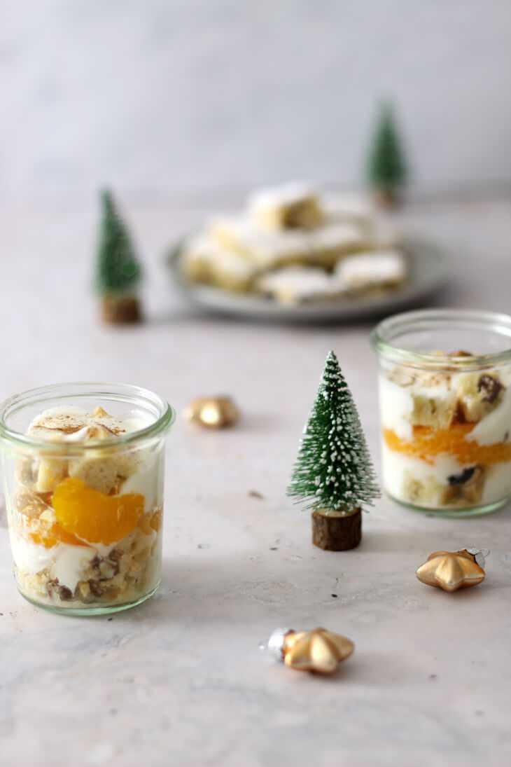 Stollen Dessert Rezept | bäckerina.de