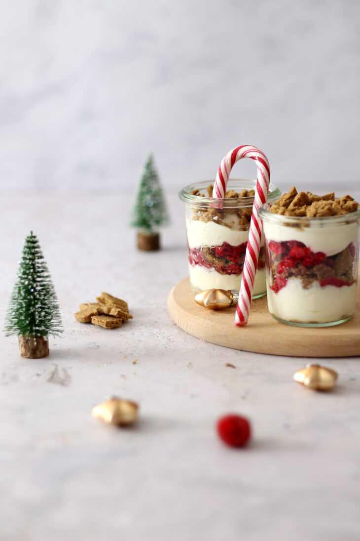 Himbeer Spekulatius Dessert | bäckerina.de