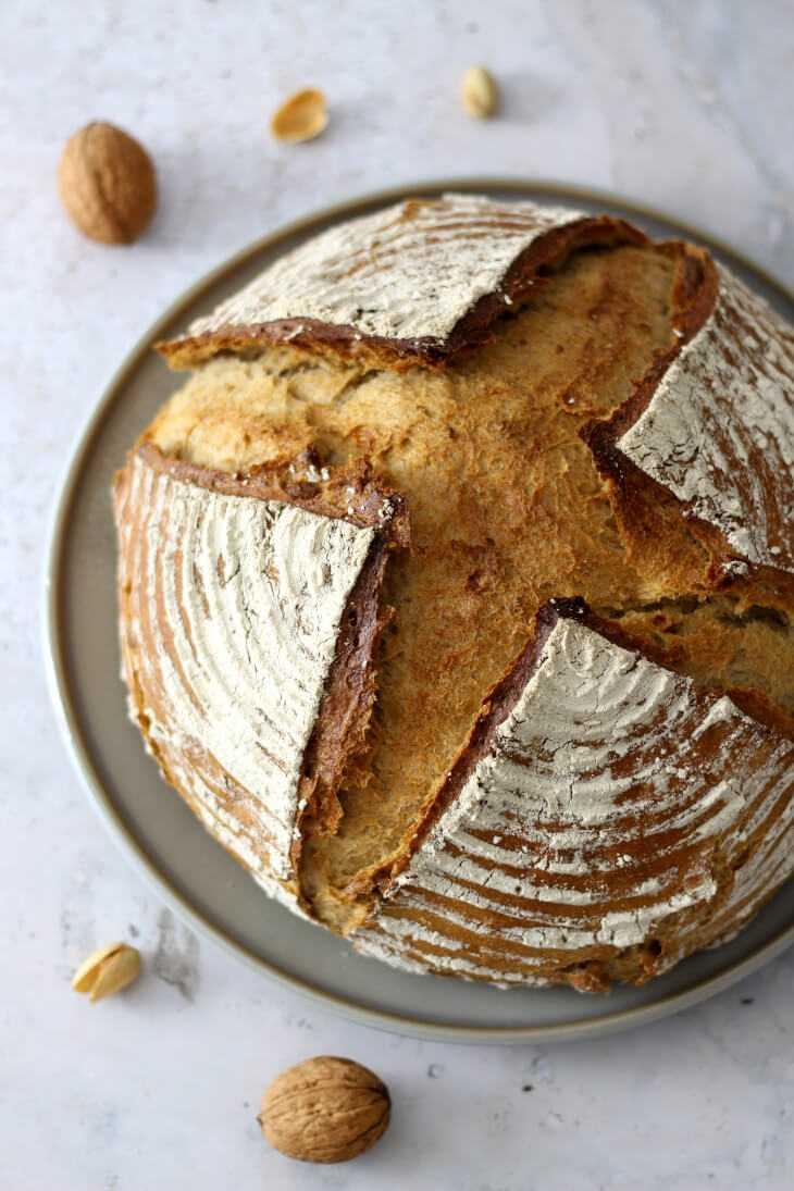 Nussbrot Rezept mit Buttermilch | bäckerina.de