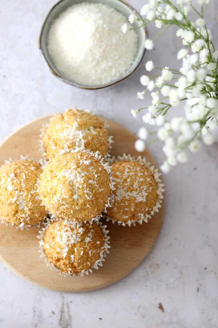 Kokosmuffins Rezept | bäckerina.de