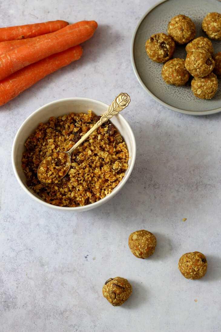 Erdnussbutter Energy Balls | bäckerina.de
