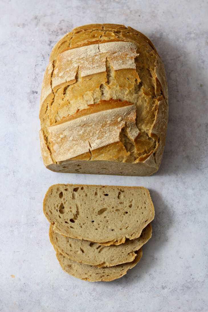 Brot über Nacht mit Dinkel und Roggen | bäckerina.de