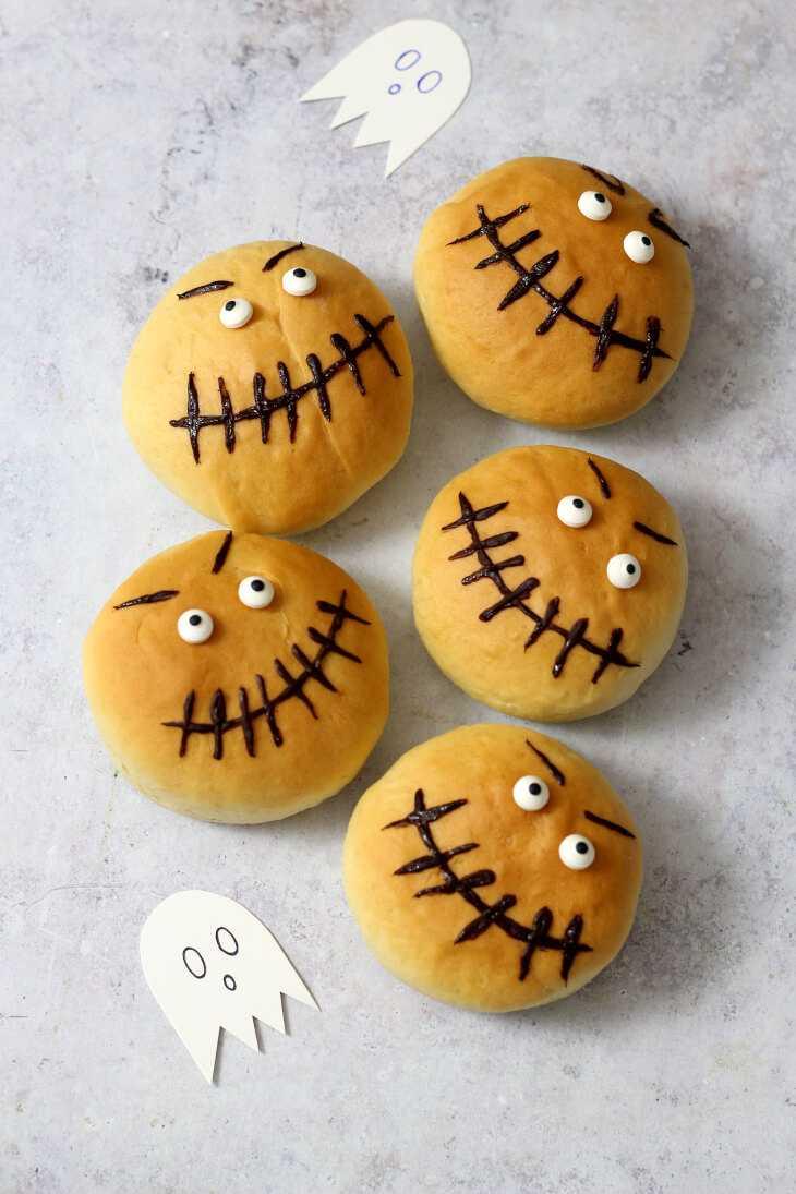 Halloween Brötchen Rezept | bäckerina.de