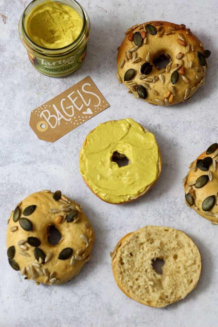 New York Style Bagels Rezept Dinkel | bäckerina.de