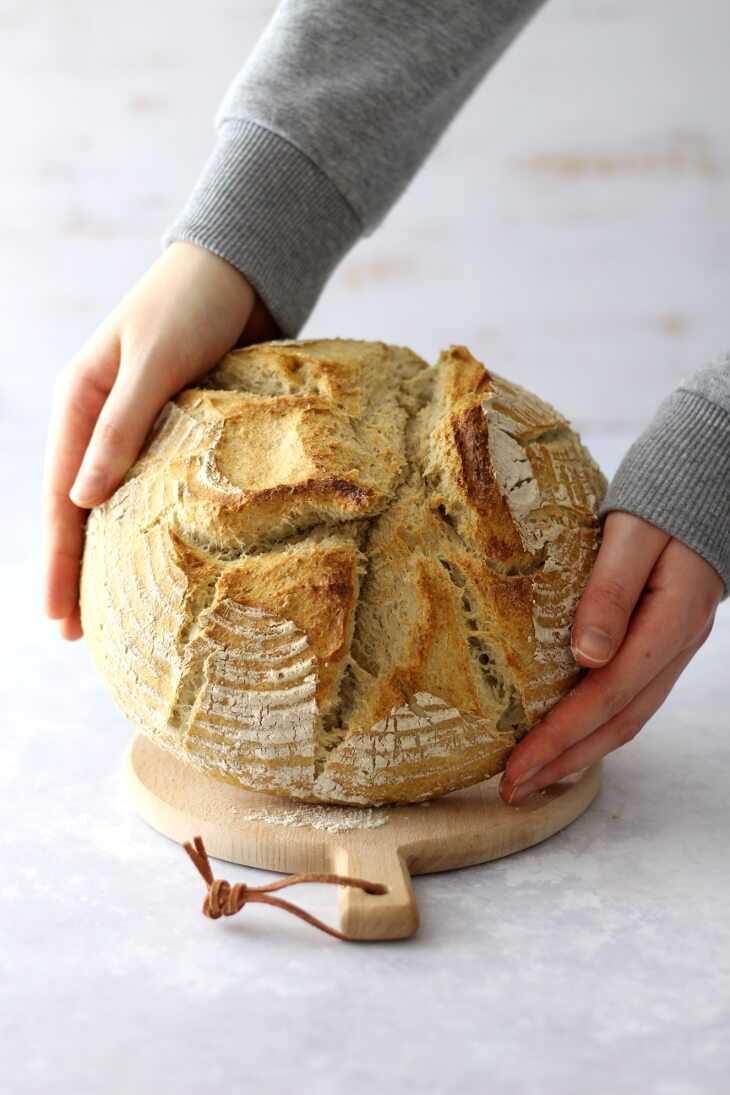 Helles Landbrot Thermomix Rezept | bäckerina.de