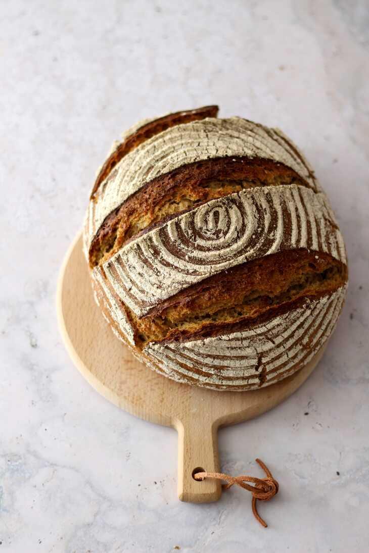 Reines Sauerteigbrot ohne Hefe | bäckerina.de