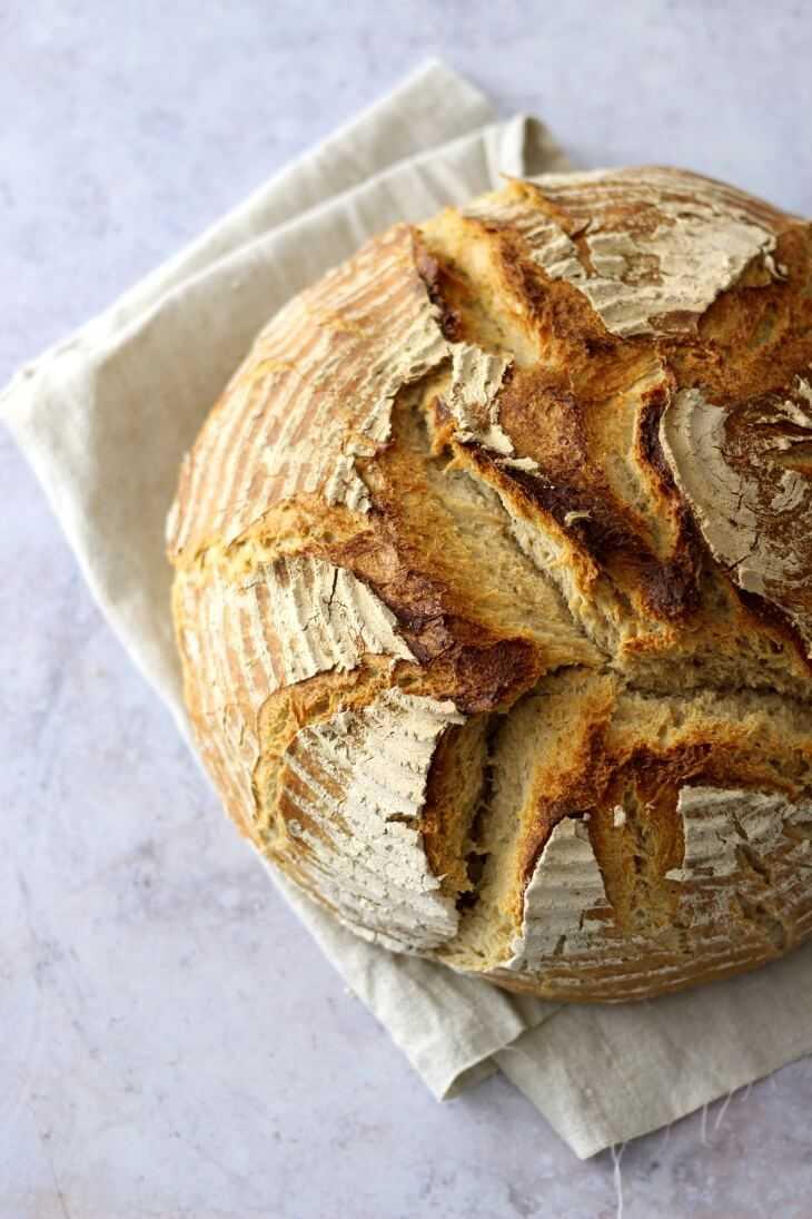 Roggen Dinkel Brot mit Sauerteig | bäckerina.de